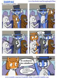 Zarpas el Conejo Shido: Comic 5 by ivaneit0r