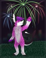 4th of july fireworks YMH by xRubyCayx