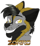 Badge Zorro