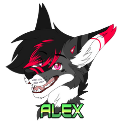 Badge Alex by xRubyCayx