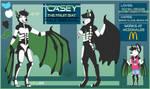 Casey The Fruit Bat by xRubyCayx