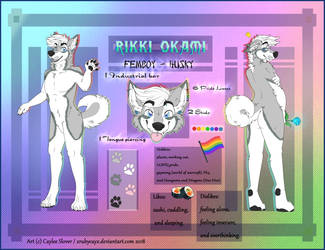 Reference Sheet: Rikki Okami by xRubyCayx
