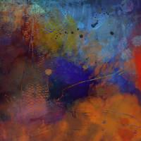Dark Koi Abstract