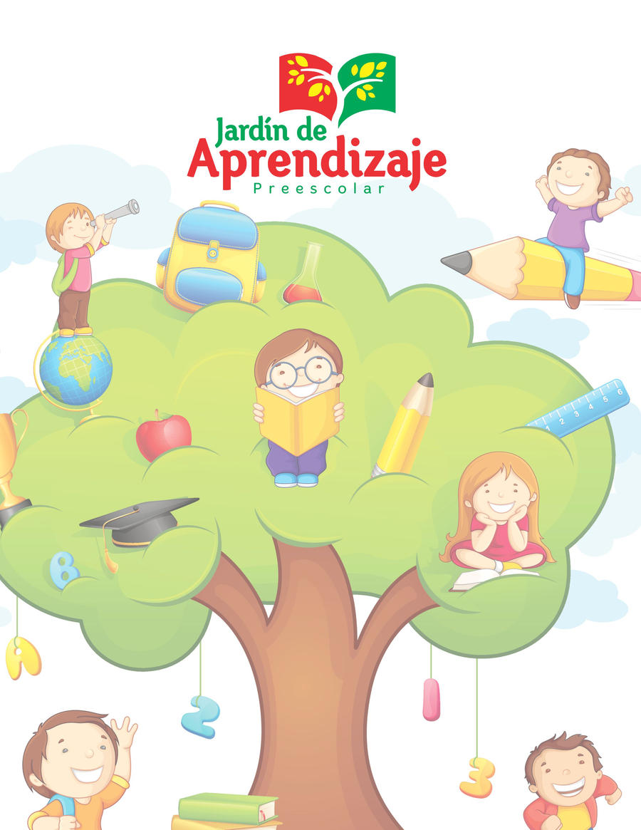 Logo jardin de aprendizaje 1 by oscarcuriel on deviantart for Logo jardin
