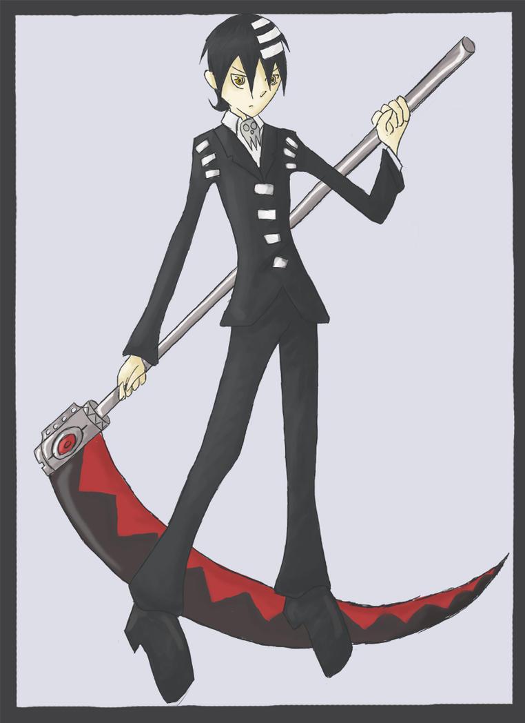death scythe by chocoboknight155 on deviantart
