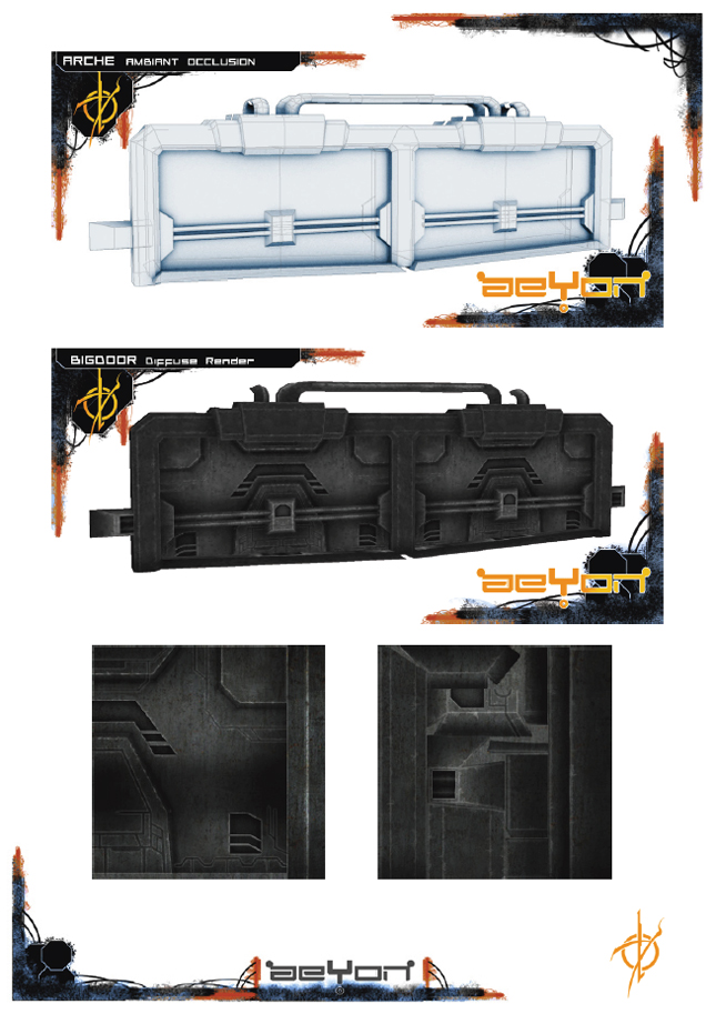 Aeyon Project - Props - Door by Ng-Aniki