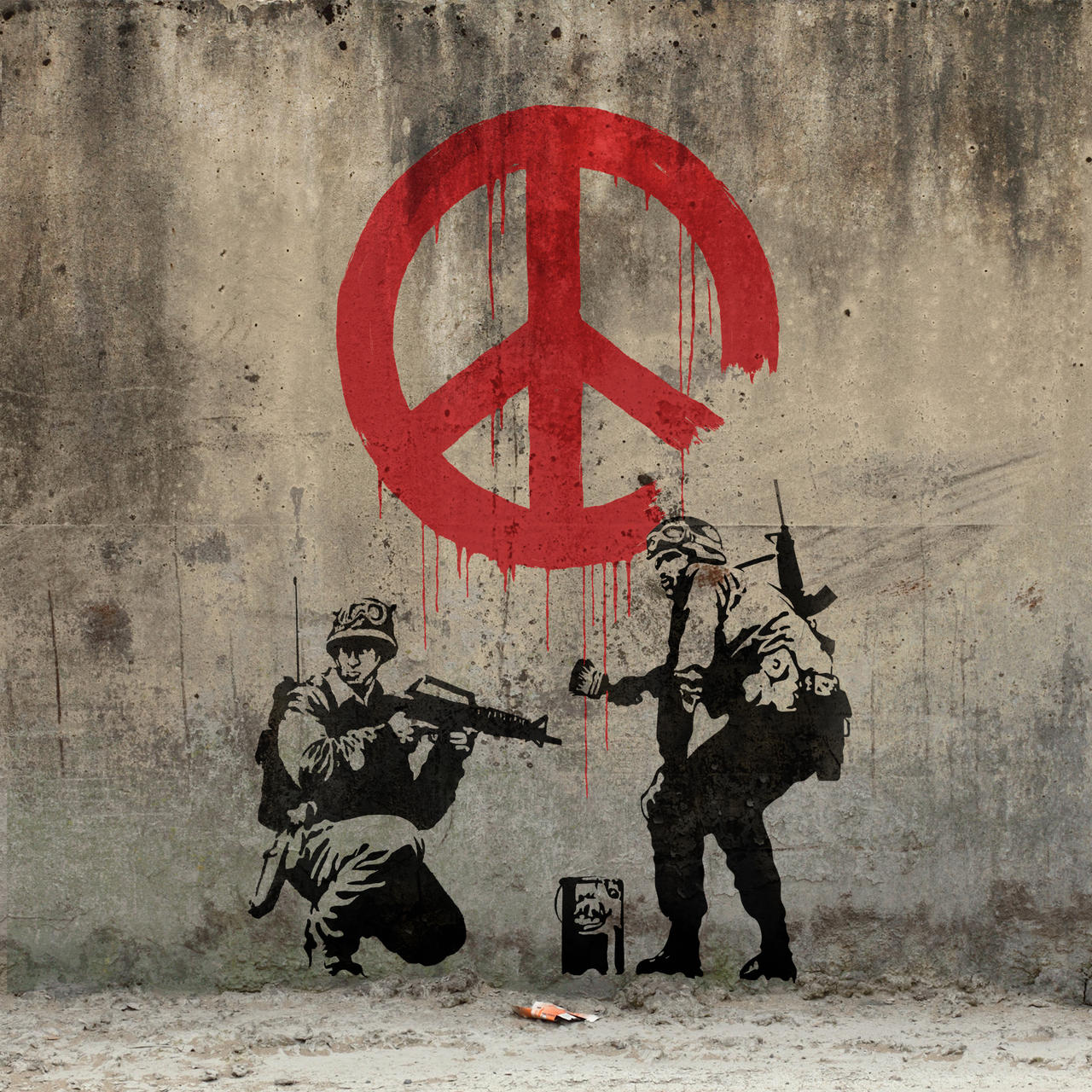 Banksy - Peace by Ng-Aniki