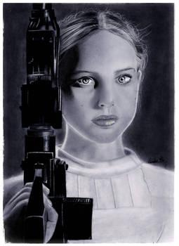 Padme Pencil Drawing