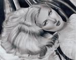 Veronica Lake Pencil Drawing