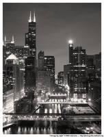 chicago by night by photobox