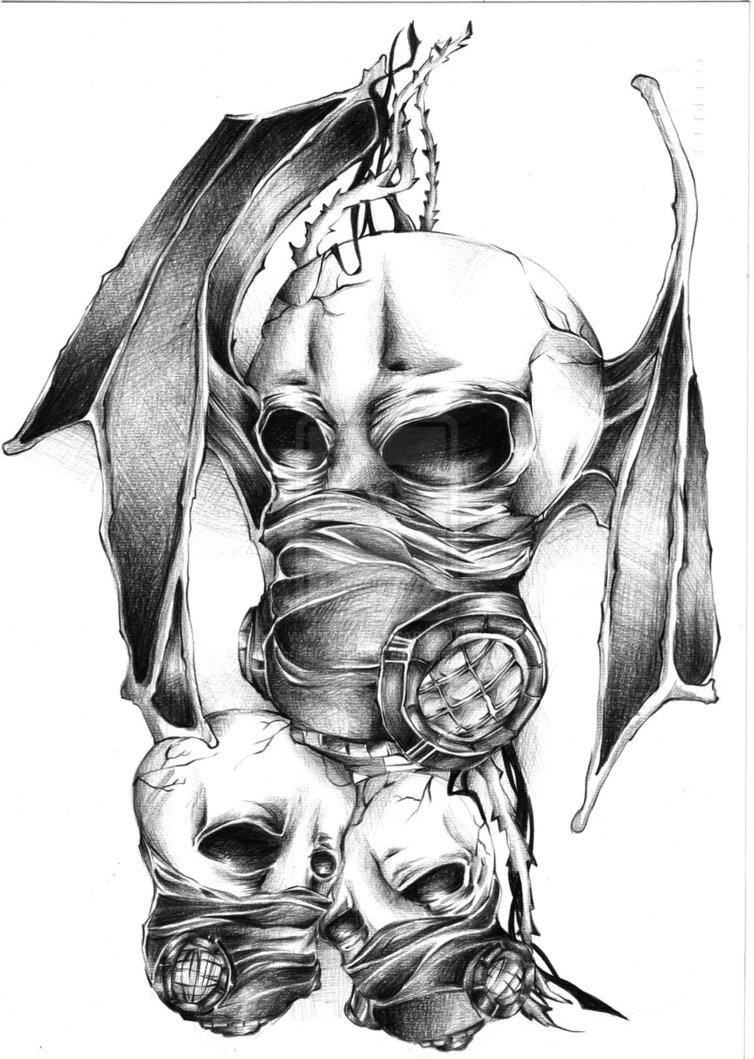 gas masks and skulls by sundoesntrise by restlesssoul86 on deviantart. Black Bedroom Furniture Sets. Home Design Ideas