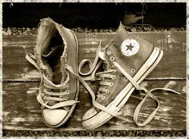 vintage converse by ski03
