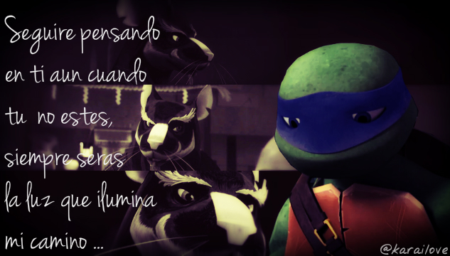 Leo And Splinter Ii Tmnt 2012 Ii By Karailove On Deviantart