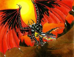Dragon of Destruction by Avadras