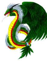 Quetzalcoatl by Avadras
