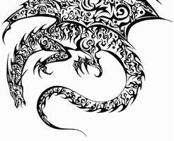 Dragon Tattoo by Avadras