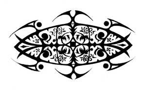 Tribal Tattoo by Avadras