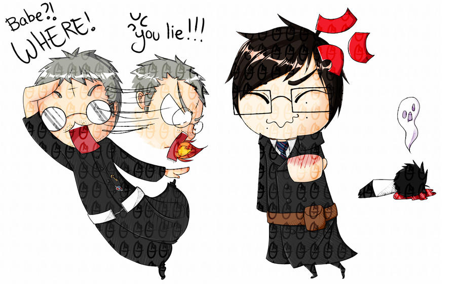 Ao No Exorcist chibis by OMGProductions