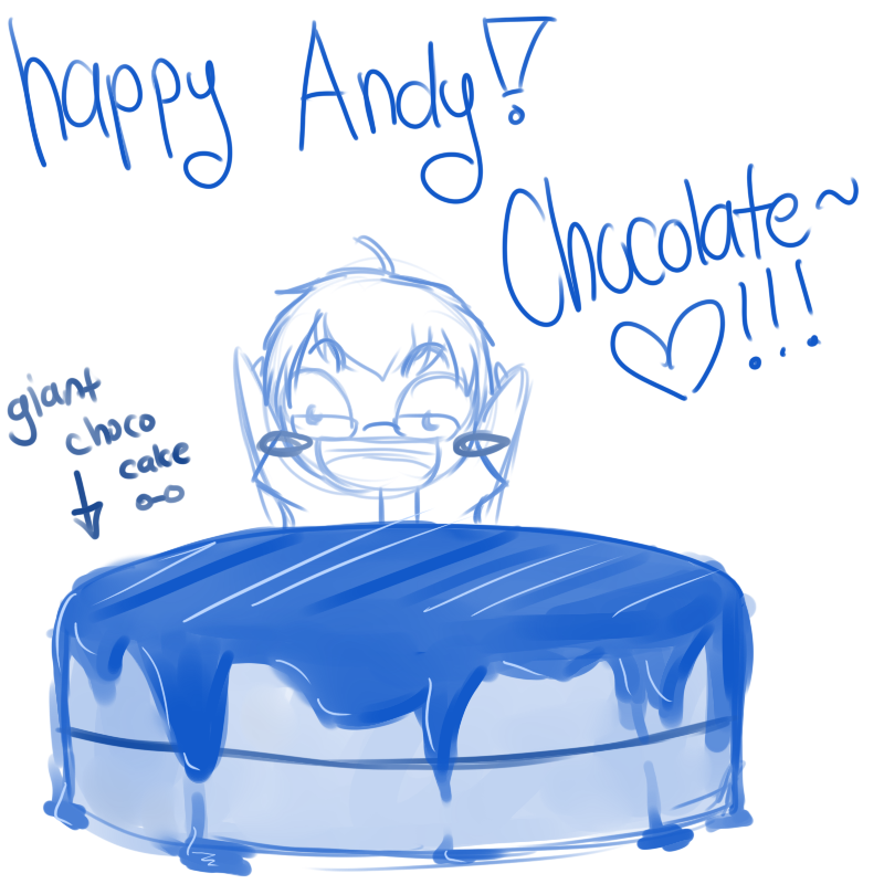 Day 17 Happy Birthday Andy by OMGProductions