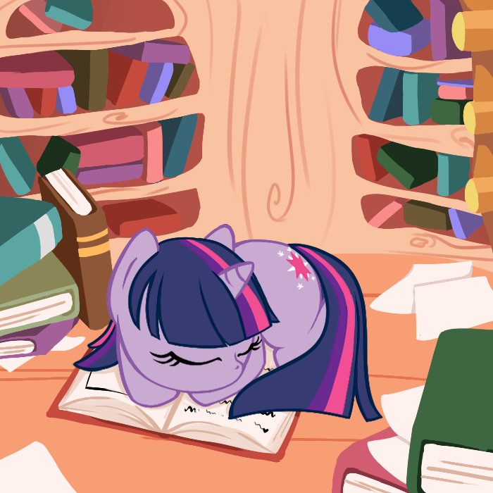 Little Twilight Sparkle's Studies by OMGProductions