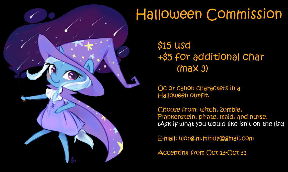 Halloween commission by OMGProductions
