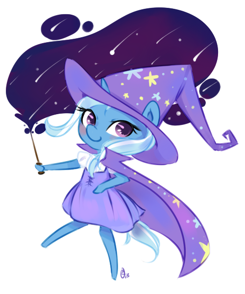 Witchy Trixie by OMGProductions