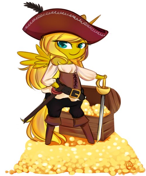 Pirate Ticket by OMGProductions