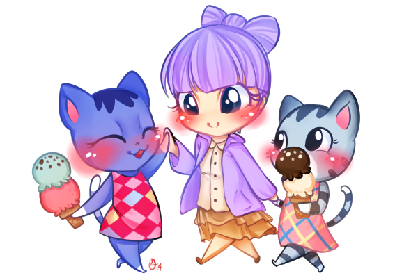 ACNL Commission 9 by OMGProductions