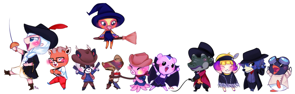 ACNL Commission 11 by OMGProductions