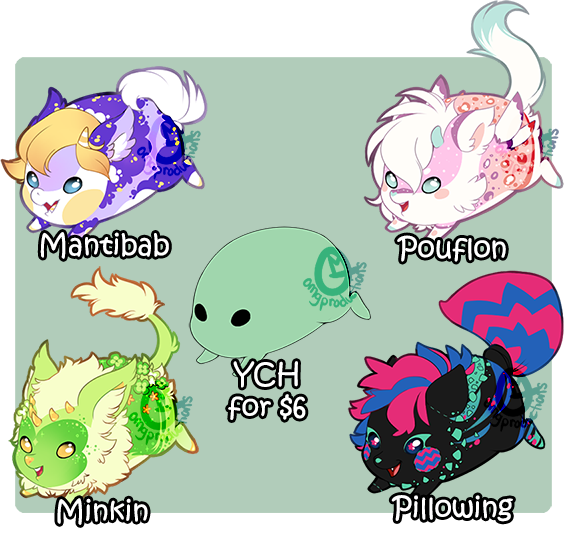 Pill Babies YCH [Closed] by OMGProductions