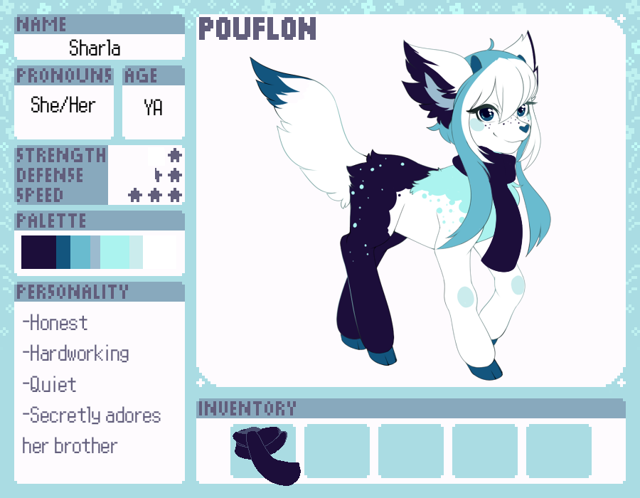 Pouflon: Sharla by OMGProductions