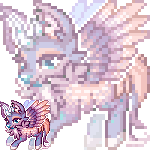 Pixel: Wintry-Chan by OMGProductions