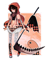 Eel gijinka by azamono