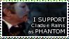 Claude Rains Phantom STAMP by lonewined
