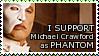Michael Crawford Phantom STAMP