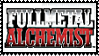 Fullmetal Alchemist [white] STAMP by lonewined