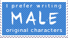 Male OC [STAMP] by lonewined