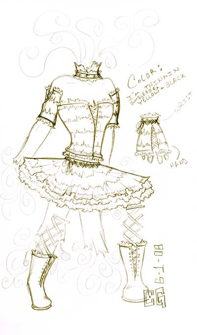 Fashion Design on Bumble Bee Tutu Fashion Design By  Midnight Specks On Deviantart