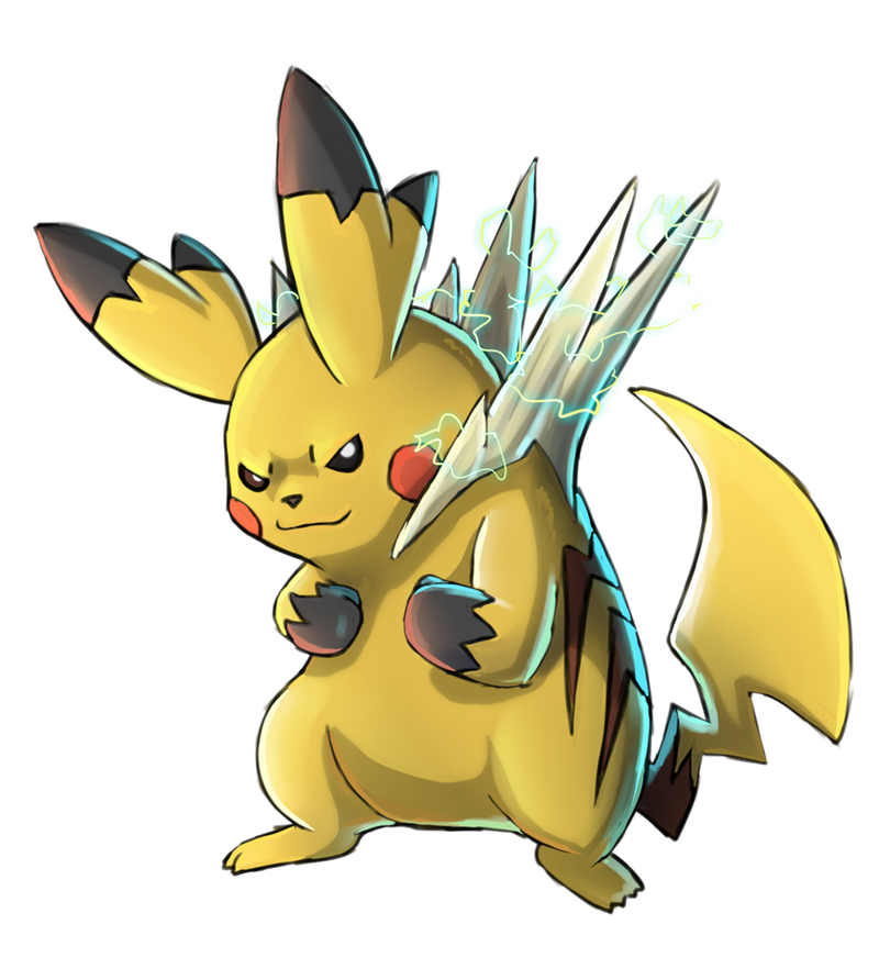 Pokemon Pikachu Evolut...