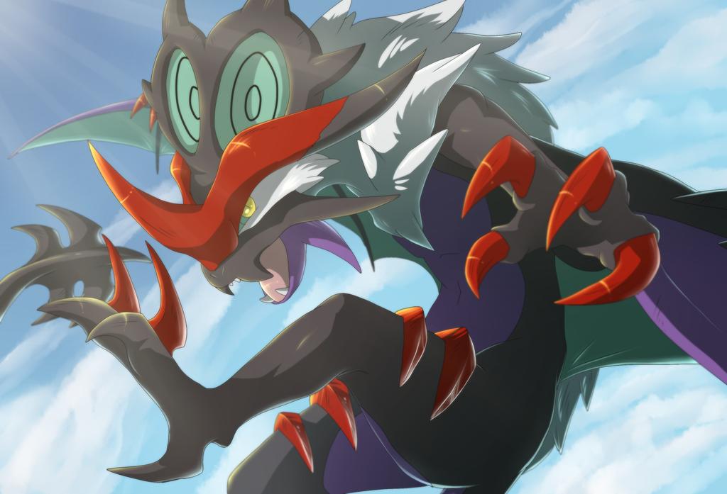 Noivern Images Pokemon