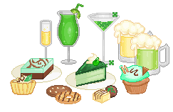 St Patricks Day Pixels by Buried-Above-Love