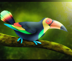 Le Toucan by seagaull