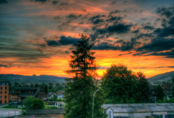 sunset view by Picturs-Of-Me