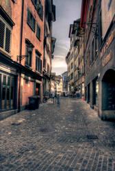 Narrow Streets of Cobblestone