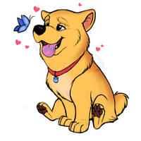 Dog-ified Winnie the Pooh