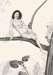 Lilac fairy by Mahtaliel
