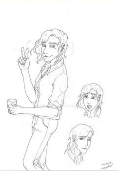 Mi-chi character