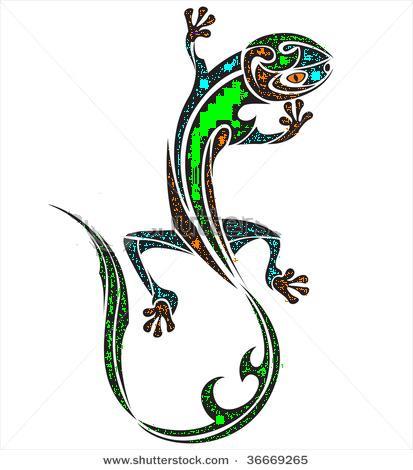 1c113c8f4 Lizard Tattoo 2 by MEGAanimelover1 on DeviantArt