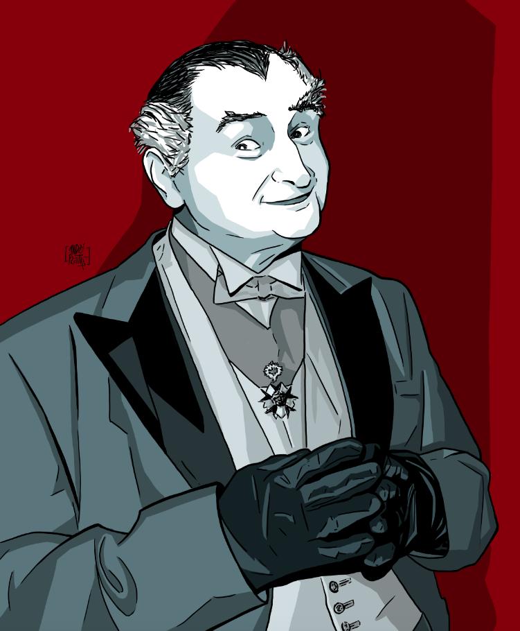 Grandpa Munster by yescabrita