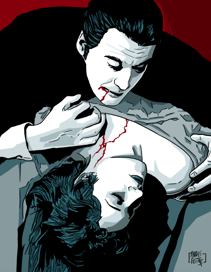 Dracula Lee by yescabrita